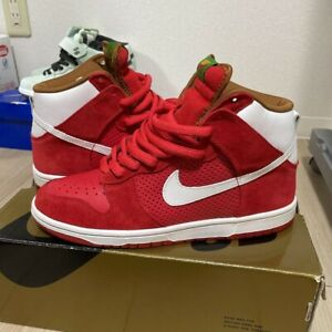 Nike SB Dunk High Big Gulp Red / White 305050-611 DS Rare fitting only Size 8.5