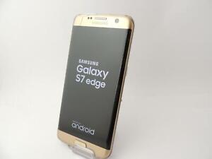Samsung Galaxy S7 Edge SM-G935F 32GB 12MP Smartphone Gold  Locked EE --