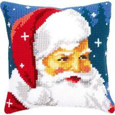 Vervaco Kind Santa Cushion Cross Stitch Kit - 526453