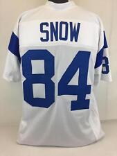 Jack Snow unsigned custom sewn white jersey football adult xlarge