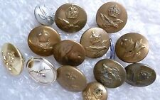 Button- Royal Flying Corps Buttons , 13 pcs