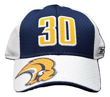 Buffalo Sabres Reebok Jersey Mesh Stretch Fit Player/Team Cap Hat Ryan Miller#30