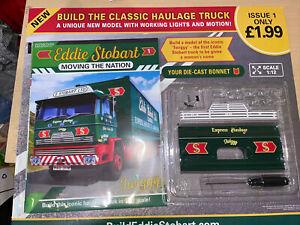 Hachette Build The Eddie Stobart Classic Truck Twiggy #1. 1:12 Die-Cast metal