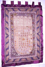 Antique GoldenTriangle Hand-made Wall hanging Buddha Footprint Tapestry