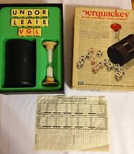 VINTAGE PERQUACKEY WORD GAME 1969 LAKESIDE TOYS Scoresheet Nice Condition