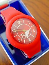 New Crow The Prospect Silicone Watch (Red)