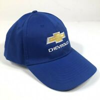 NEW Chevrolet Chevy Hat Cap Blue Adjustable Strap One Size Polyester