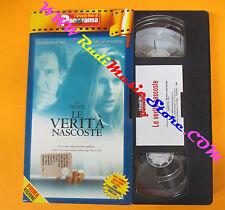 VHS film LE VERITA' NASCOSTE Ford Pfeiffer GRANDI FILM DI PANORAMA (F36) no dvd