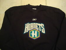 NBA New Orleans Hornets NOW Pelicans Black Crew Neck Sweatshirt XL