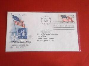 "Scott 1132  ""Flag (49 Stars)""  FDC Art Craft cachet with single stamp"