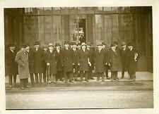 """""""Mr TARDIEU (Sortie du Conseil des Ministres) 1930"""" Photo originale G.DEVRED/ROL"""