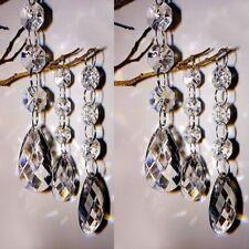 30pc Acrylic Crystal Bead Chandelier Wedding Centerpiece Garland Chain Prisms