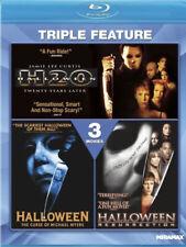 HALLOWEEN Triple Feature BLU + DIGITAL Curse H20 Resurrection NEW RARE OFTEN OOP