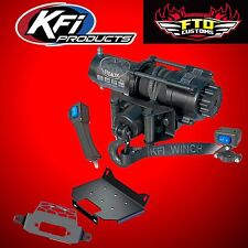 KFI SE35 Stealth 3500lb Winch and Winch Mount Kit UTV 14-17 Polaris RZR 1000