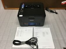 Brother HL-L2340D WiFi Laser Printer 18K Pages w/100% Toner & Cables TESTED FAIR