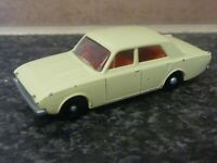 LESNEY MATCHBOX No.45 FORD CORSAIR CREAM BODY WITH RED INTERIOR MADE IN ENGLAND