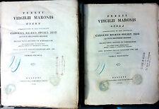 PUBLII VIRGILII MARONIS OPERA INTERPRETATIONE ET NOTIS ILLUSTRAVIT. TOMUS 1° E 2