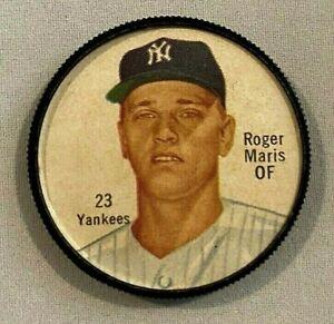 Roger Maris 1962 Salada Tea and Junket Coin #23 !!!  NEW YORK YANKEES