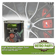 Red Caliper Brake Drum Paint for Peugeot 504. High Gloss Quick Dying
