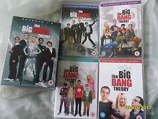 THE BIG BANG THEORY - BOX SET - SERIES 1 TO 4 - 13 DVDs
