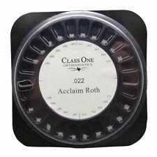 1 Box Dental Orthodontic Class One Ceramic Bracket Braces 55 Roth 022 Hooks 3