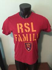 Homage Real Salt Lake RSL Family Shirt Mens Medium