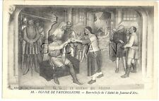French Artist Drawn PC- Brought Before the King- Joan of Arc Jeanne d Arc- 06-17