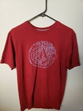 Volcom Hawaii Tshirt Red Mens Medium Rare Excellent Condition