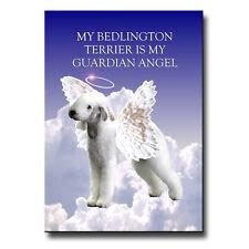 Bedlington Terrier Guardian Angel Fridge Magnet New Dog Pet Loss