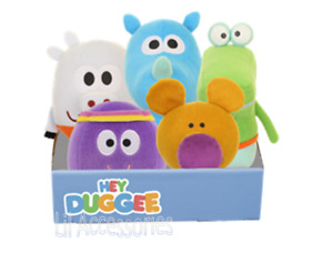 Hey Duggee 20cm Talking Soft Toy - Choose from Roly,Tag, Happy,Betty, Norrie