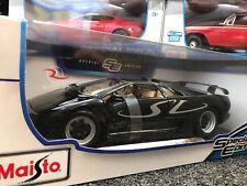 Maisto 1:18 Scale Diecast Model Car - Lamborghini Diablo SV (Black)
