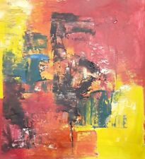 Home Decor Art on Canvas Abstract Hand-Painted Oil Painting