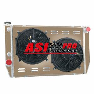 3 ROW Aluminum Radiator+Shroud Fan For 79-86 Ford Falcon V8 6cyl XC XD XE XF AUS
