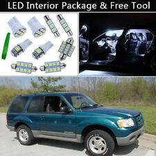 14PCS Xenon White LED Interior Lights Package kit Fit 1995-2001 Ford Explorer J1