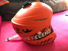 Casque de ski enfant LOHTSE 8516m orange taille 50 52, 8 - 10 ans TBE, val 50€