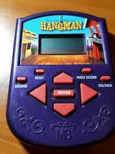 Hangman Electronic Hand-Held Game, MB, 2002, guess mystery word first