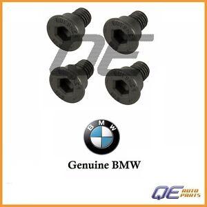 Set of 4 Disc Brake Rotor Set Screw Genuine 40706012001 For: BMW E36 E46 E82 E88