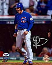 Albert Almora Jr. Signed 8x10 Chicago Cubs World Series Photo - PSA/DNA