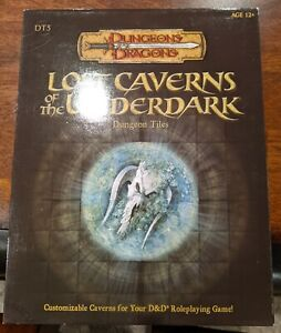DT5 LOST CAVERNS OF THE UNDERDARK Tiles D&D Dungeons & Dragons