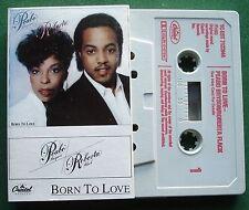 Peabo Bryson / Roberta Flack Born to Love Cassette Tape - TESTED