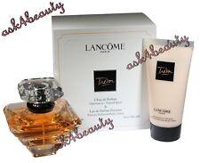 Tresor by Lancome 2 PC Set 1.7 oz Leau de Parfum + 1.7 oz Perfume Lotion New D/F