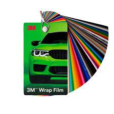 3M? 2080 Wrap FIlm Autofolie Farbfächer Musterfächer