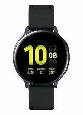 Samsung Galaxy Watch Active 2 40mm Caja de aluminio con Correa de fluoroelastómero - Aqua Black (Bluetooth)