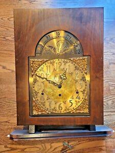Howard Miller Triple Chime Complete Clock Dial Face 610-205 Urgos 03049B
