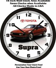 1982 TOYOTA SUPRA CELICA WALL CLOCK-FREE USA SHIP!