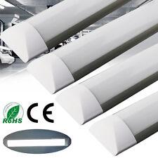 10x Slim 4FT 36W LED Batten Linear Tube Light Surface Mount Wall Ceiling 1200mm