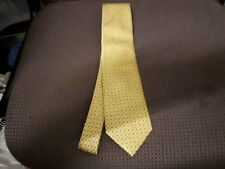 Marks & Spencer Polyester Yellow & Blue Tie