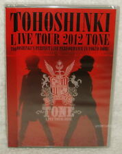 TOHOSHINKI 5th LIVE TOUR 2012 TONE Taiwan 2-DVD (Dong Bang Shin Ki TVXQ)