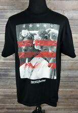 DNINE D9 Reserve Fumar Algo Black American Flag Graphic T-Shirt XL A0112
