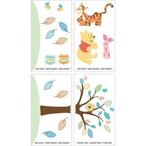 Pooh and Friends Removable Wall Decals